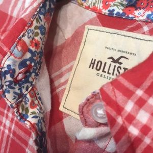 Hollister Dresses - 🐚Hollister Plaid Shirt Dress Medium